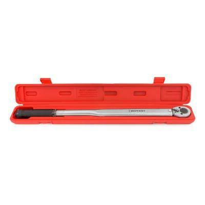 TEKTON Torque Wrench 1/2 in. Drive Calibrated Chrome-Plated