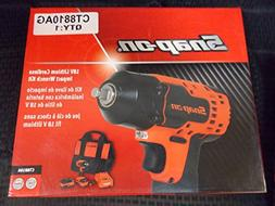 Snap-On 18V Lithium Cordless Impact Wrench Kit, 3/8 Drive, T