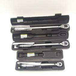 Pittsburgh Pro TORQUE WRENCH -  CLICK-STOP SET-of-3
