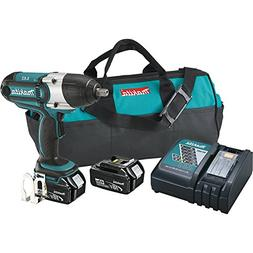 Makita 18V LXT 4.0 Ah Li-Ion 1/2'' High Torque Impact Wrench