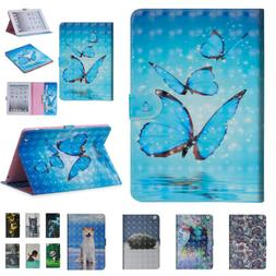 Magnetic Pattern PU Leather Case Shell Stand Cover For iPad
