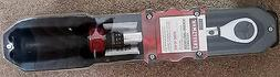 """Craftsman Micro-Clicker Torque Wrench 3/8"""" Drive 25 to 250 i"""