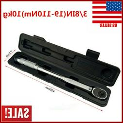 New 3/8 Torque Wrench Snap Socket Professional Drive Click T