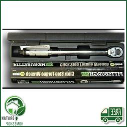 Pittsburgh - 3/8 In Drive Click Type Torque Wrench Tool 14-1