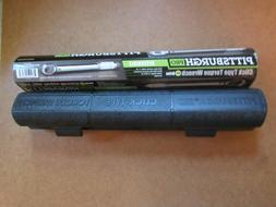 Pittsburgh Pro Torque Wrench 3/8 in. Drive Click-Type w/Hard
