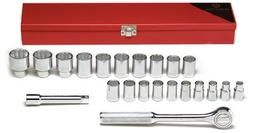 Wright Tool 472 22-Piece 12-Point Standard Metric Socket Set