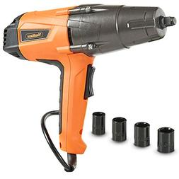 VonHaus 8.5 Amp 1/2-inch Electric Impact Wrench Set with Hog