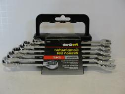 Pro-Grade 19001 6-Piece SAE Combination Wrench Set
