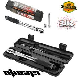 Professional Drive Click Type Ratcheting Torque Wrench 1/4-I
