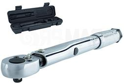 """RamPro 1/4"""" Drive Click Torque Wrench Low Range  