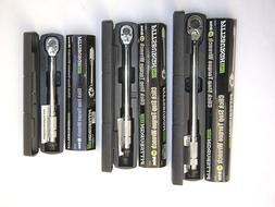 ⚠Set of 3- 1/4, 3/8, 1/2 Drive Click Type Torque Wrench Sn
