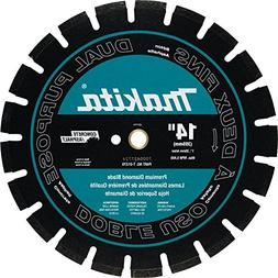 Makita T-01270 14 Inch Diamond Blade Dual Purpose