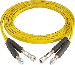 ENERPAC THQ706T Hose Assembly, hyd, 1/4 In x 19.5 Ft