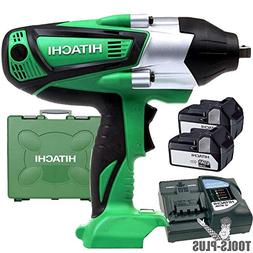 Hitachi WR18DSHL 18V Cordless Lithium-Ion High Torque 1/2-in